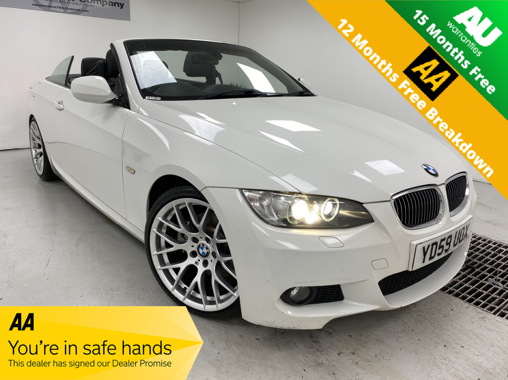 Used BMW 3 SERIES 3.0 330I M SPORT HIGHLINE 2DR AUTOMATIC in West Yorkshire