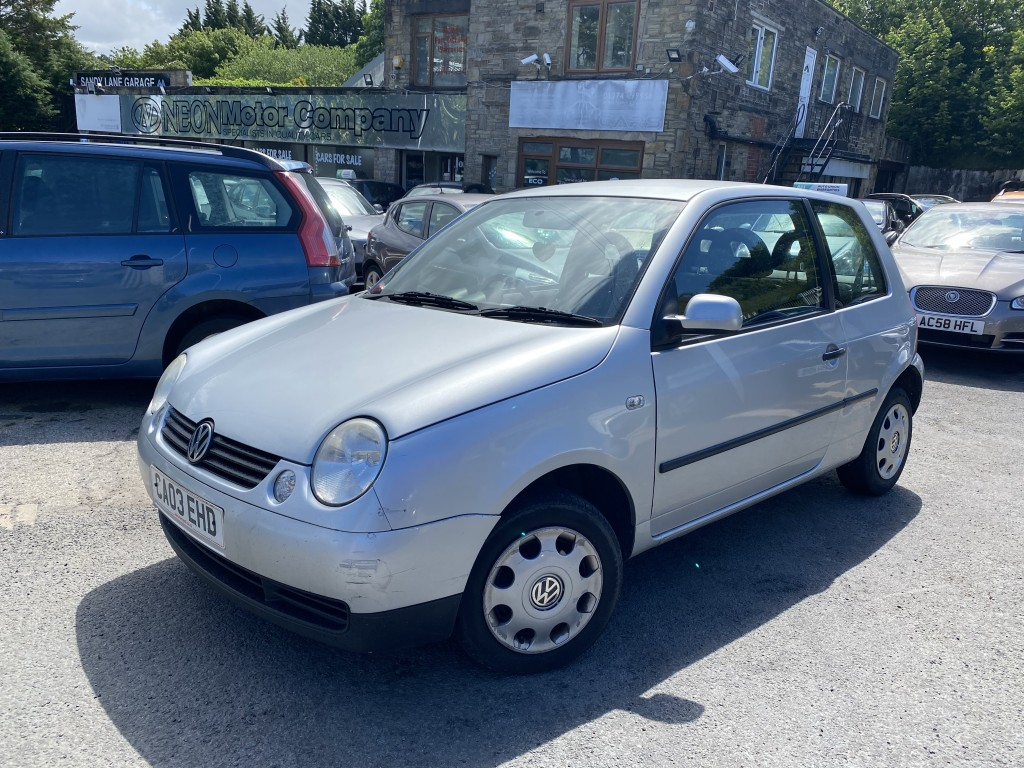 Used VOLKSWAGEN LUPO 1.0 E / BASE 3DR in West Yorkshire
