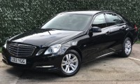 MERCEDES-BENZ E CLASS 2.1 E220 CDI BLUEEFFICIENCY S/S SE 4DR AUTOMATIC