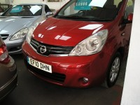 NISSAN NOTE 1.6 ACENTA 5DR AUTOMATIC