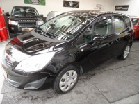 VAUXHALL MERIVA 1.4 16v EXCLUSIV 5 DR HATCH AIR CONDITIONING MULTI FUNCTION STEERING USB AUX FSH 86K 2 PRE OWNERS