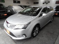 TOYOTA AVENSIS 2.0 T4 D-4D 5 DOOR ESTATE DIESEL TOURER TOP SPEC LEATHER ALCANTARA ELECTRIC SEATS SAT NAV