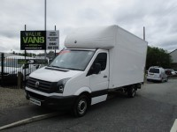 VOLKSWAGEN CRAFTER LUTON 2.0 CR35 TDI BLUEMOTION - ONE OWNER - FSH