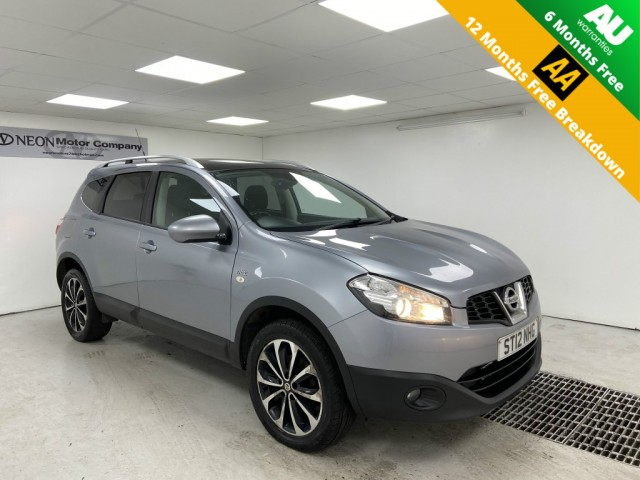 Used NISSAN QASHQAI+2 1.6 N-TEC PLUS 2 5DR in West Yorkshire