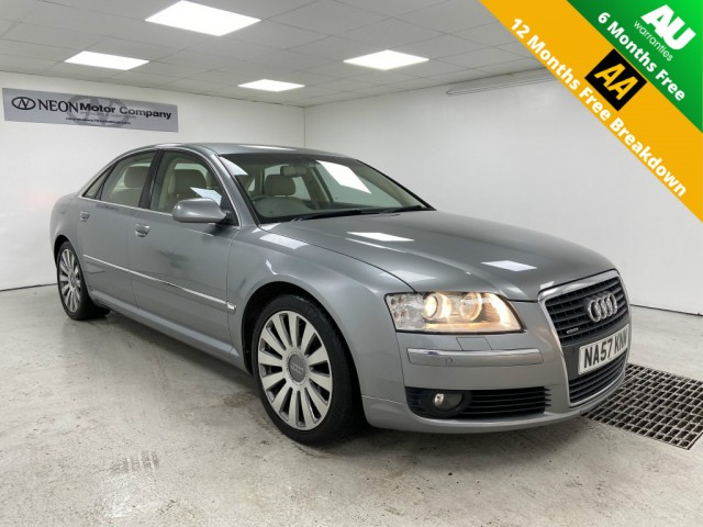Used AUDI A8 3.0 TDI QUATTRO SPORT 4DR AUTOMATIC in West Yorkshire