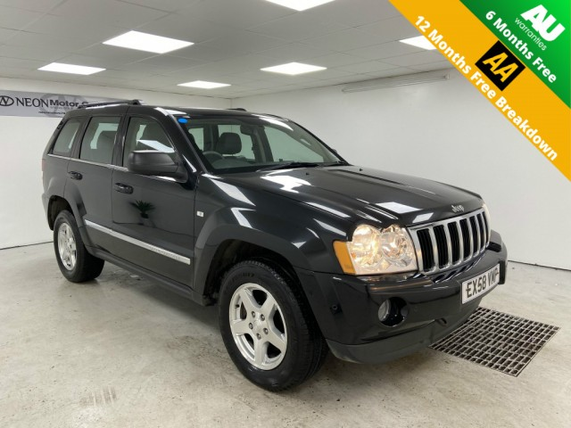 Used JEEP GRAND CHEROKEE 3.0 V6 CRD LIMITED 5DR AUTOMATIC in West Yorkshire