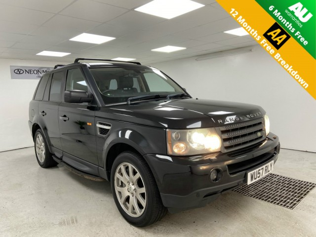 Used LAND ROVER RANGE ROVER SP HSE TDV6 A ESTATE in West Yorkshire