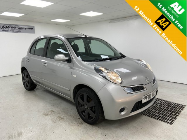 Used NISSAN MICRA 1.2 ACENTA 5DR AUTOMATIC in West Yorkshire