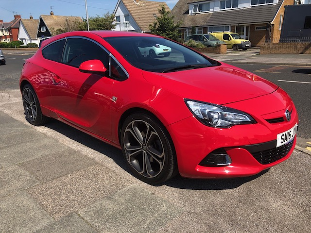 VAUXHALL ASTRA GTC 1.4 GTC LIMITED EDITION S/S 3DR