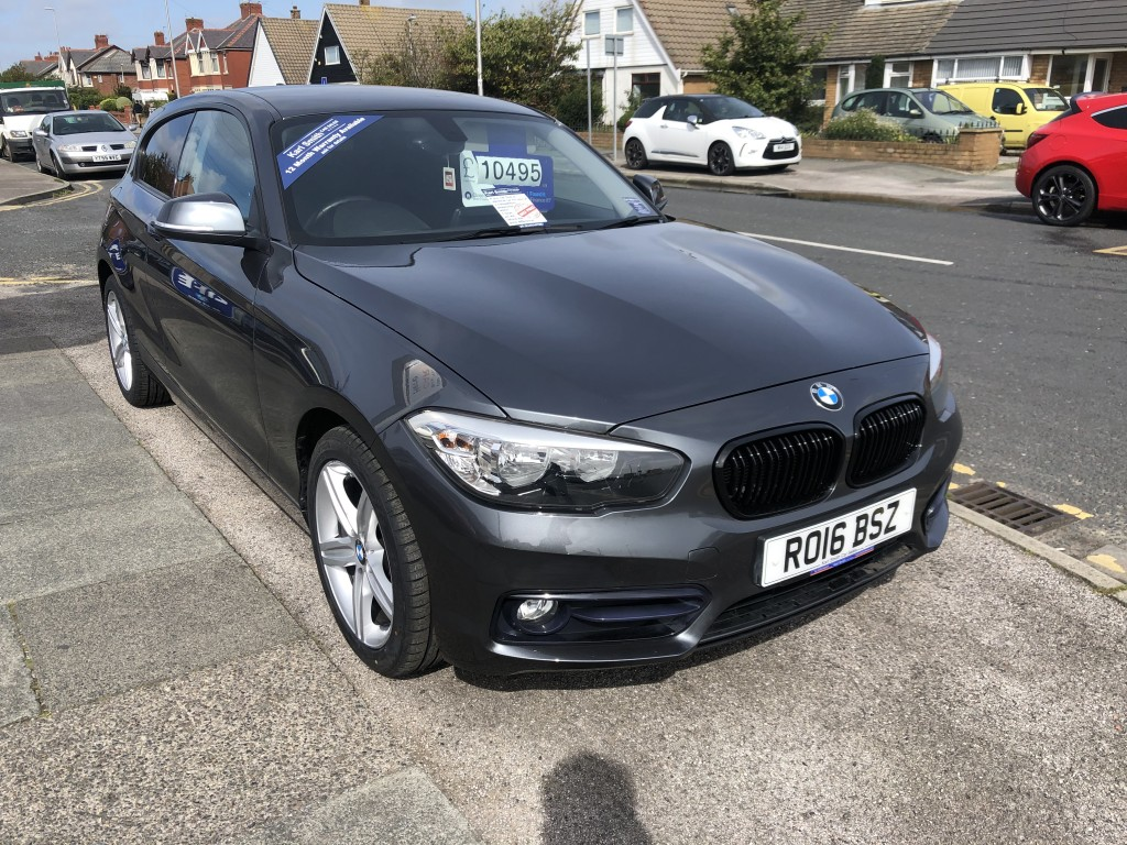 BMW 1 SERIES 1.5 116D SPORT 3DR