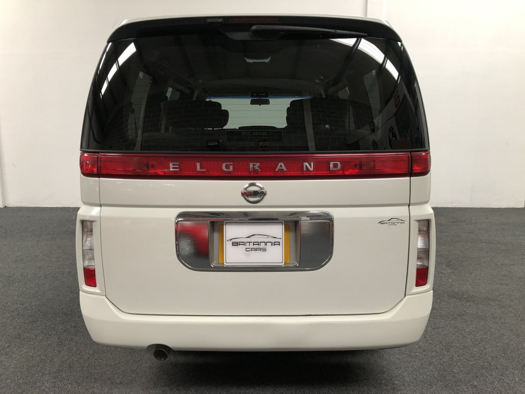 NISSAN ELGRAND 3.5 3.5 3.5 5DR AUTOMATIC