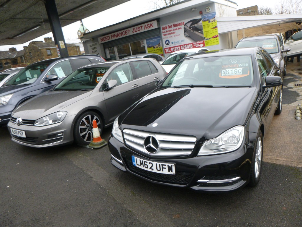 MERCEDES-BENZ C CLASS 2.1 C220 CDI BLUEEFFICIENCY EXECUTIVE SE 4DR AUTOMATIC