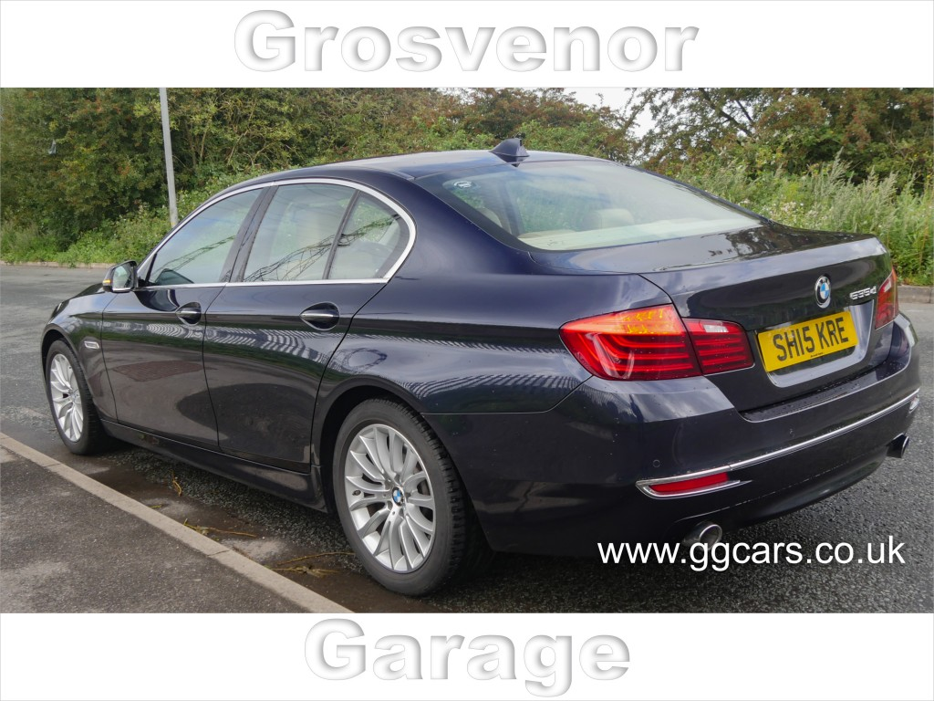 BMW 5 SERIES 3.0 535D LUXURY 4DR AUTOMATIC