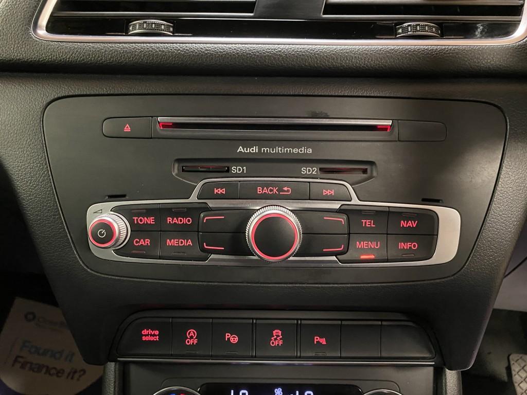 AUDI Q3 2.0 TDI QUATTRO S LINE PLUS 5DR SEMI AUTOMATIC