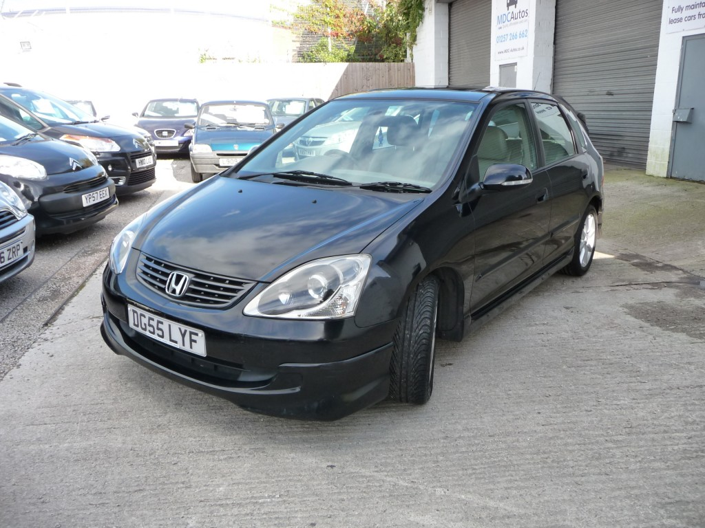 HONDA CIVIC 1.6 EXECUTIVE I-VTEC 5DR AUTOMATIC