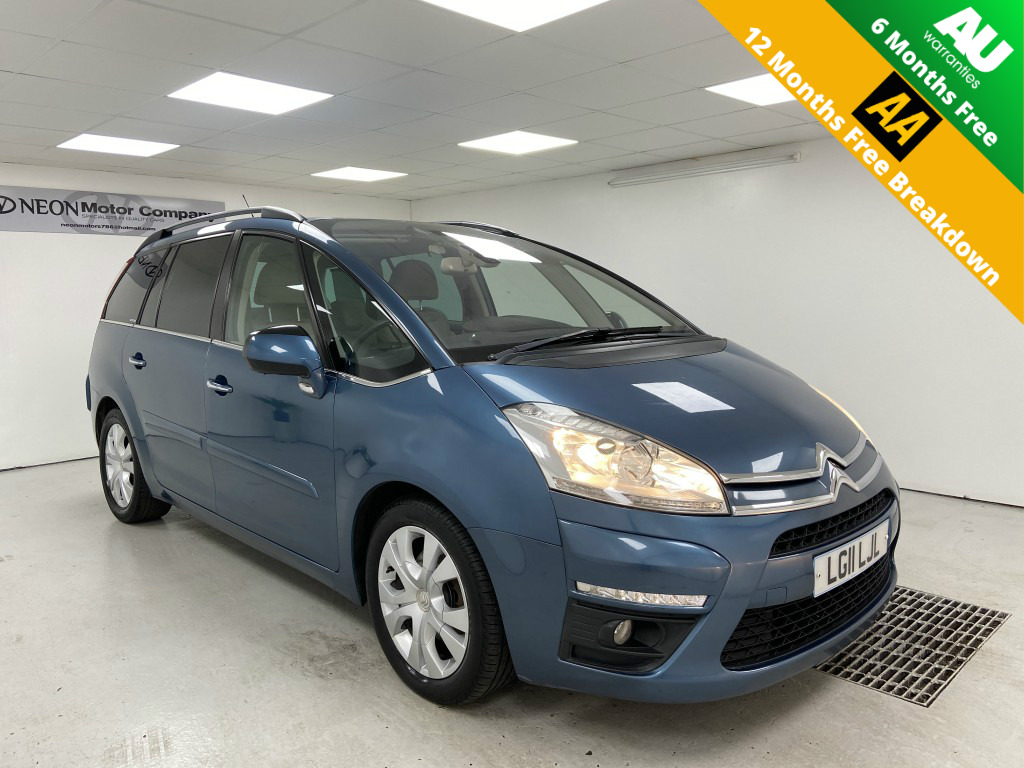 Used CITROEN C4 GRAND PICASSO 2.0 EXCLUSIVE HDI 5DR AUTOMATIC in West Yorkshire