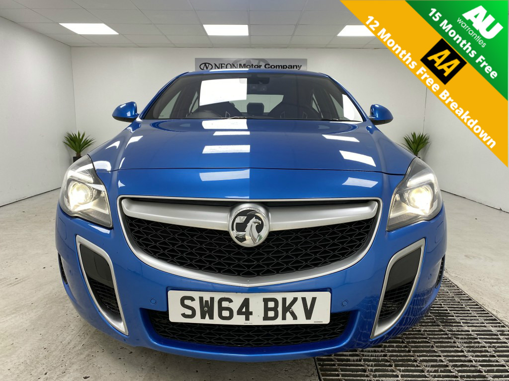 Used VAUXHALL INSIGNIA 2.8 VXR SUPERSPORT NAV 4DR in West Yorkshire