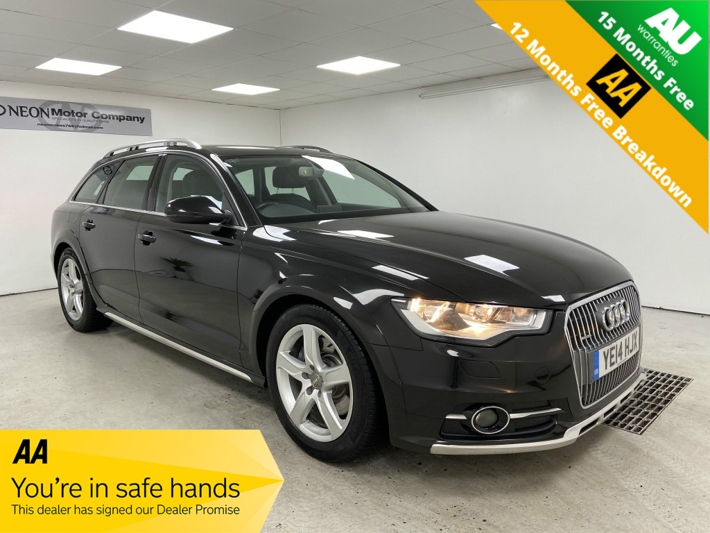 Used AUDI A6 3.0 ALLROAD TDI QUATTRO 5DR AUTOMATIC in West Yorkshire