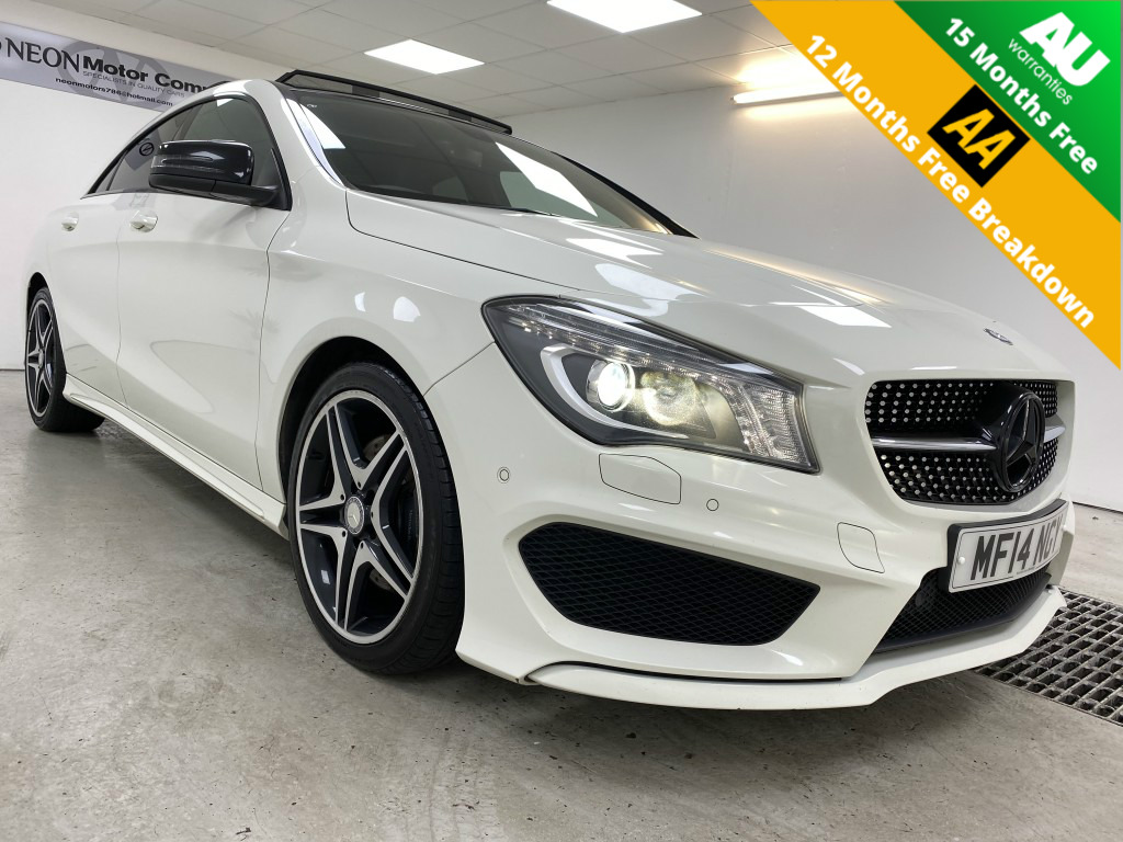 Used MERCEDES-BENZ CLA CLASS 2.1 CLA220 CDI AMG SPORT 4DR SEMI AUTOMATIC in West Yorkshire