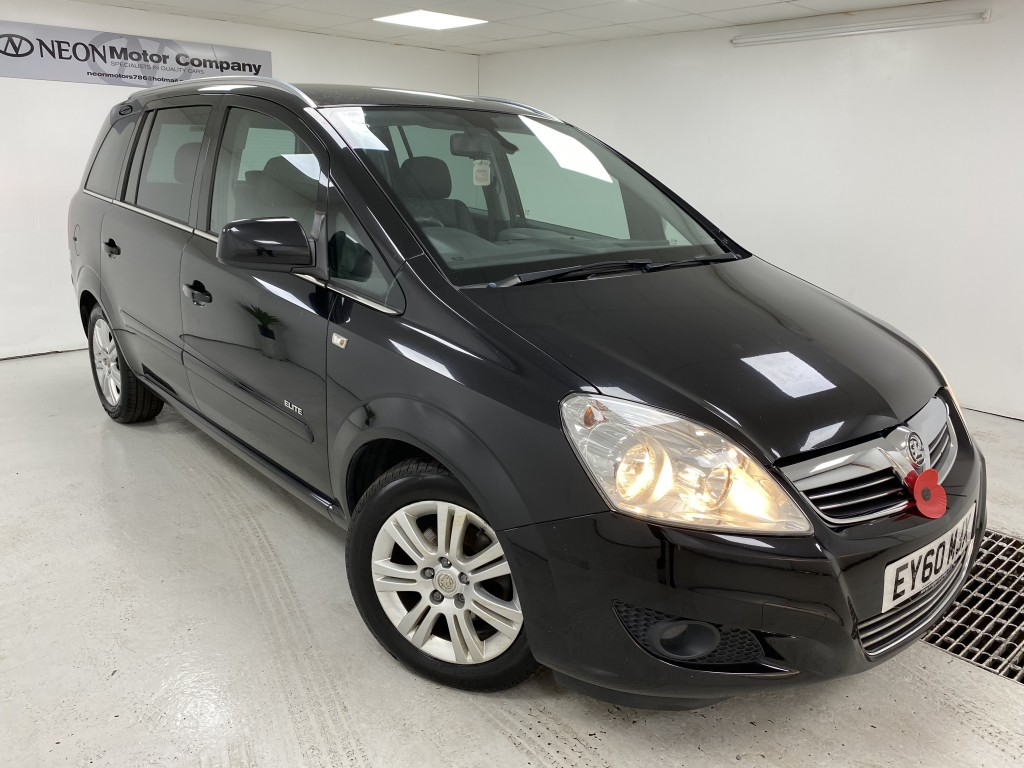 Used VAUXHALL ZAFIRA 1.8 ELITE 5DR in West Yorkshire