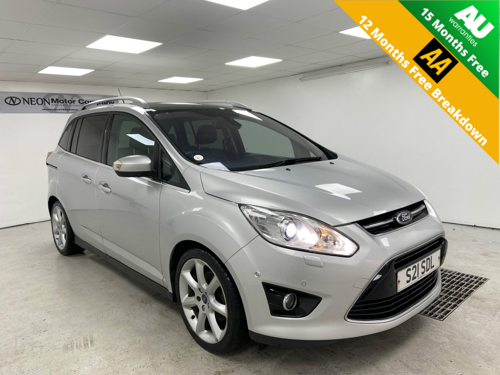Used FORD GRAND C-MAX 1.6 TITANIUM TDCI 5DR in West Yorkshire