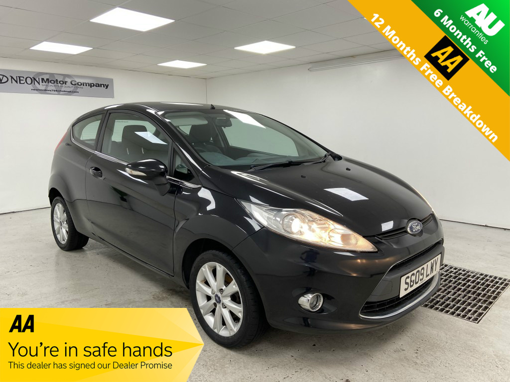 Used FORD FIESTA 1.2 ZETEC 3DR in West Yorkshire