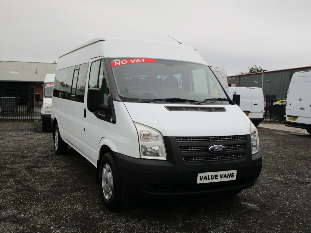 FORD TRANSIT MINI BUS 14 SEATS 135 T350 - COMES WITH COIF - NO VAT