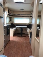 HOBBY 575 vip with awning