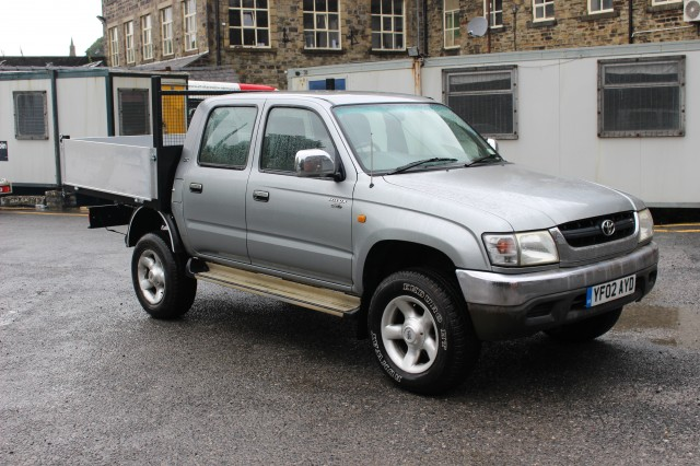 Used TOYOTA HI-LUX 270 GX DOUBLE CAB 4WD 2.5 270 GX DOUBLE CAB 4WD in Lancashire