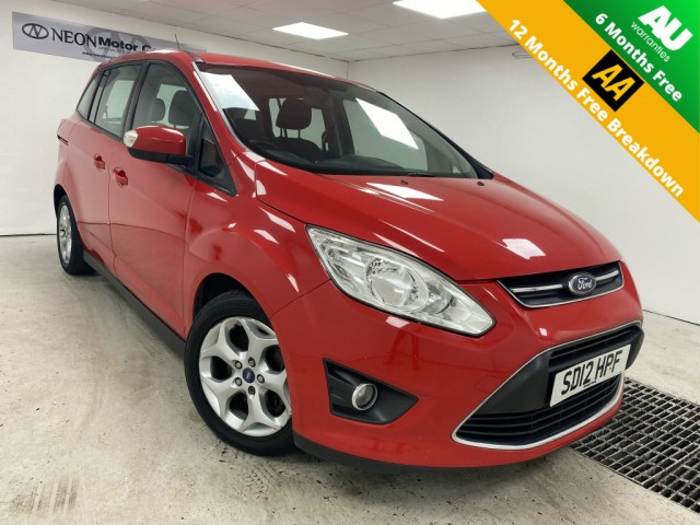 Used FORD GRAND C-MAX 1.6 ZETEC 5DR in West Yorkshire