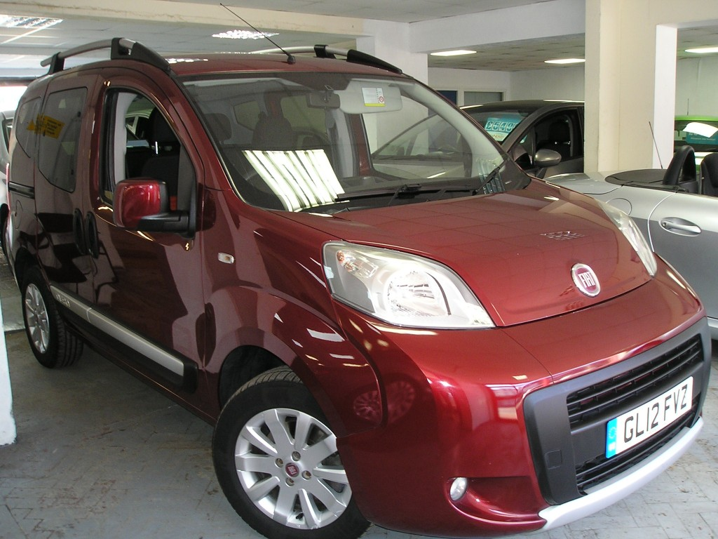 FIAT QUBO 1.2 MULTIJET TREKKING 5DR YES ONLY 32K,