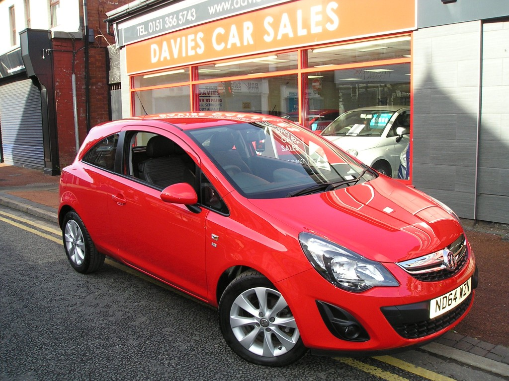 VAUXHALL CORSA 1.2 EXCITE AC 3DR YES 17K ONLY,