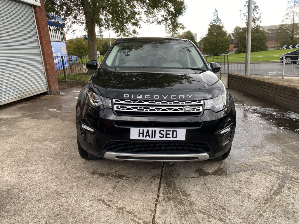 LAND ROVER DISCOVERY SPORT 2.0 TD4 HSE 5DR AUTOMATIC