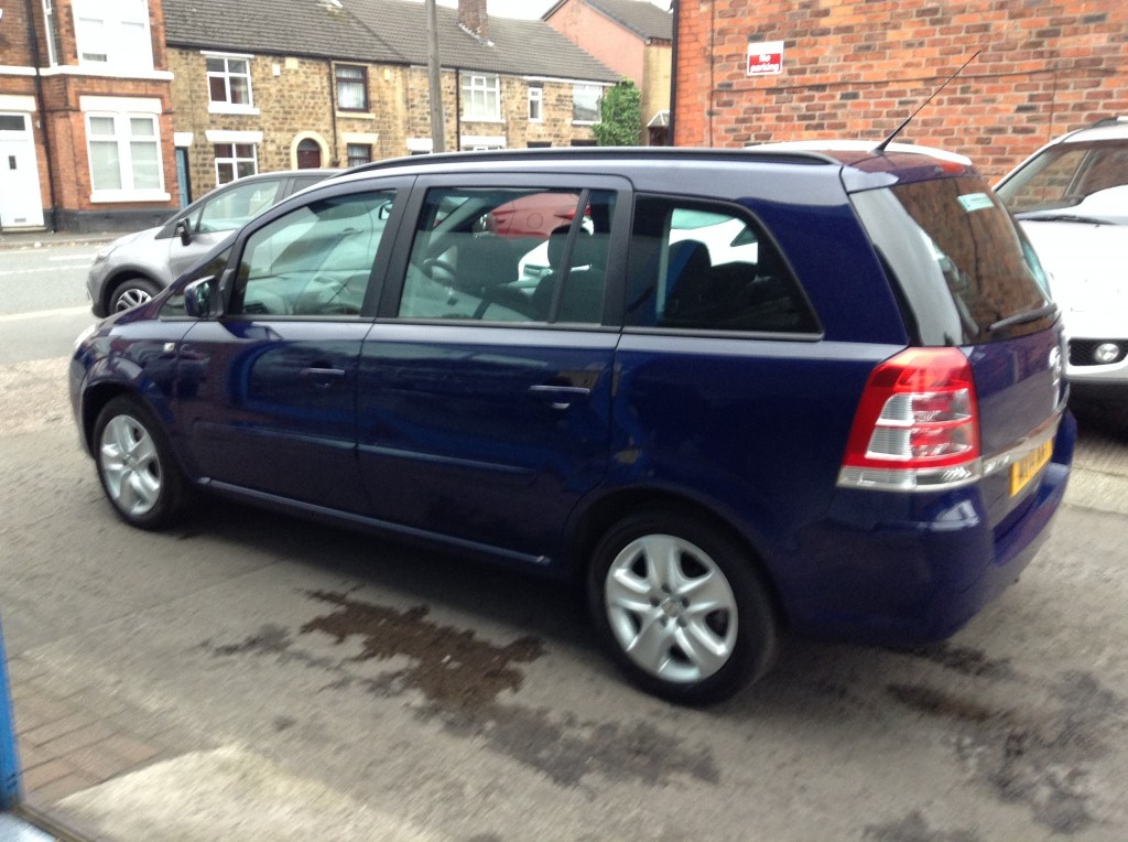 VAUXHALL ZAFIRA 1.8 EXCLUSIV 5DR