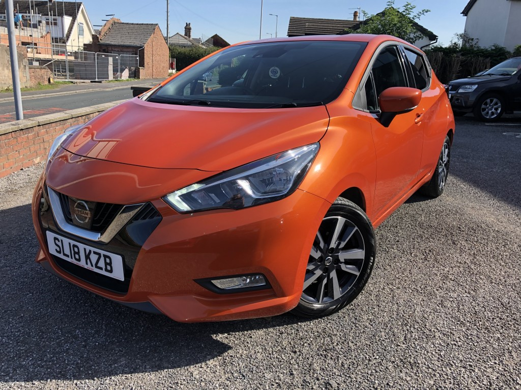 NISSAN MICRA 0.9 IG-T N-CONNECTA 5DR
