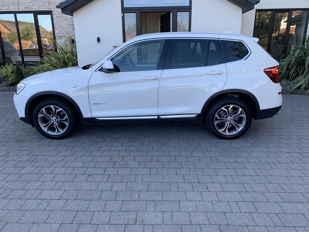 BMW X3 2.0 XDRIVE20D XLINE 5DR AUTOMATIC