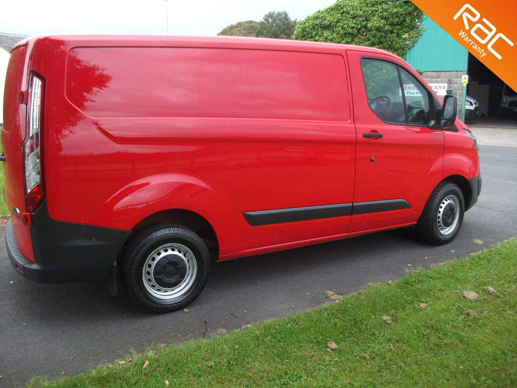 FORD TRANSIT CUSTOM DIESEL PANEL VAN 2.0 290 LR P/V