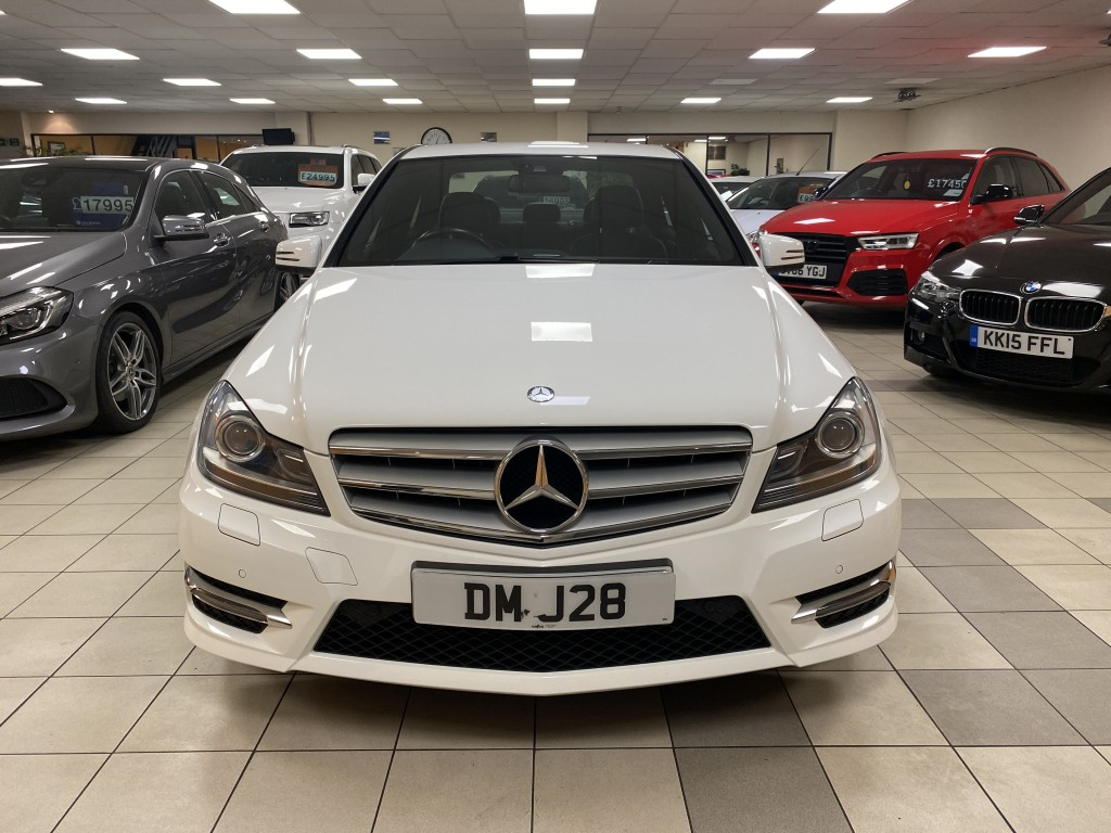 MERCEDES-BENZ C CLASS 2.1 C250 CDI BLUEEFFICIENCY AMG SPORT PLUS 4DR AUTOMATIC