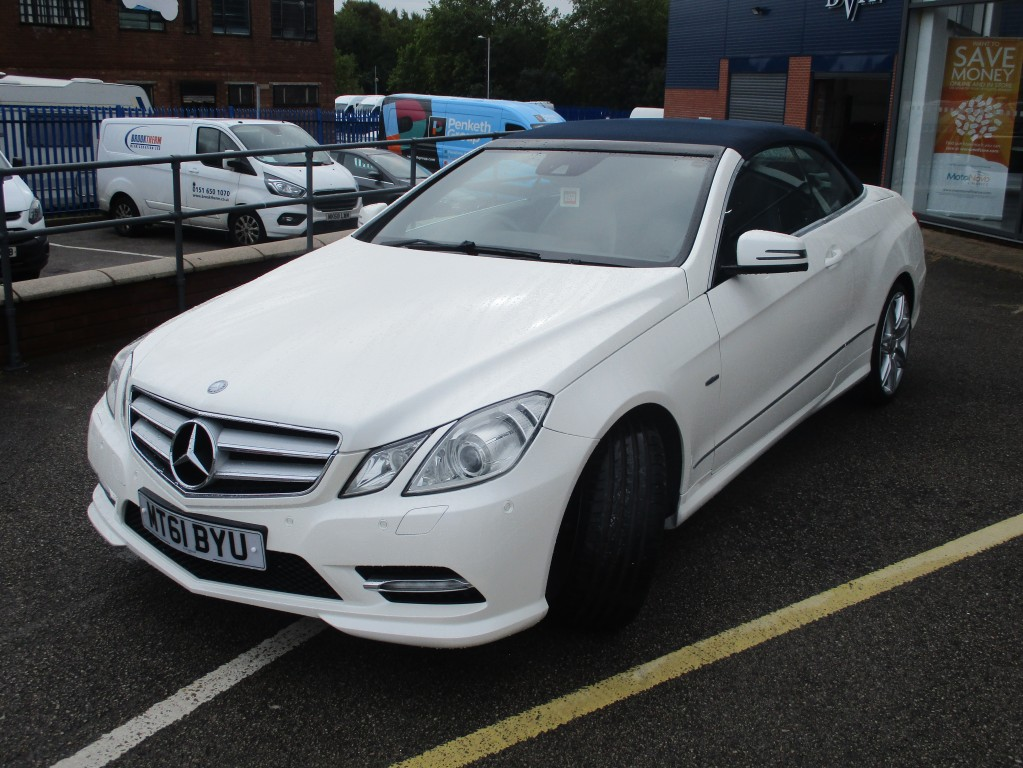 MERCEDES-BENZ E CLASS 2.1 E250 CDI BLUEEFFICIENCY SPORT ED125 2DR AUTOMATIC