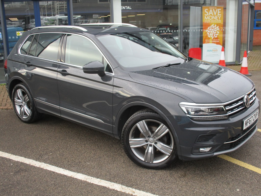 VOLKSWAGEN TIGUAN 2.0 SEL TDI BLUEMOTION TECHNOLOGY DSG 5DR AUTOMATIC