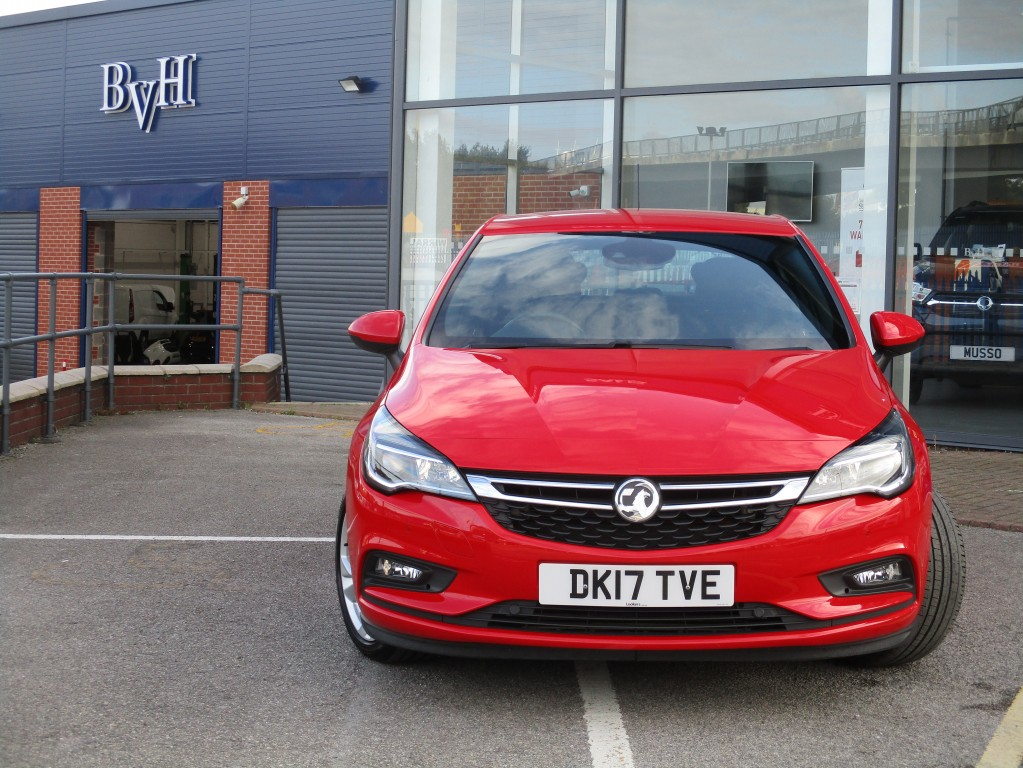 VAUXHALL ASTRA 1.4 SRI S/S 5DR AUTOMATIC