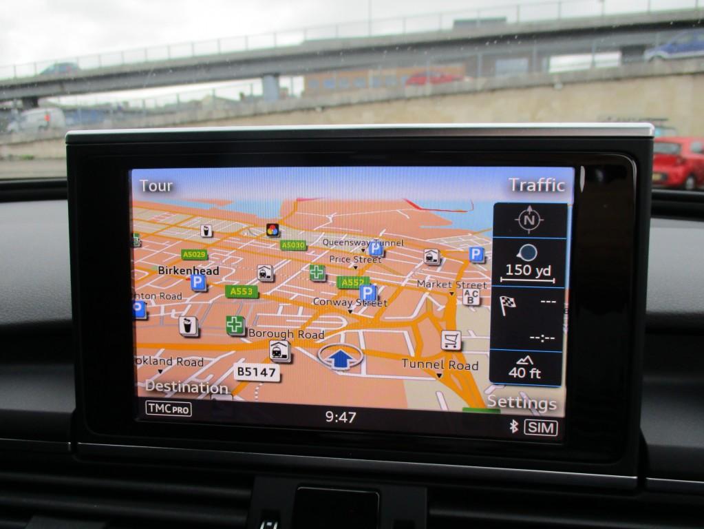 AUDI A6 2.0 TDI ULTRA BLACK EDITION 4DR SEMI AUTOMATIC
