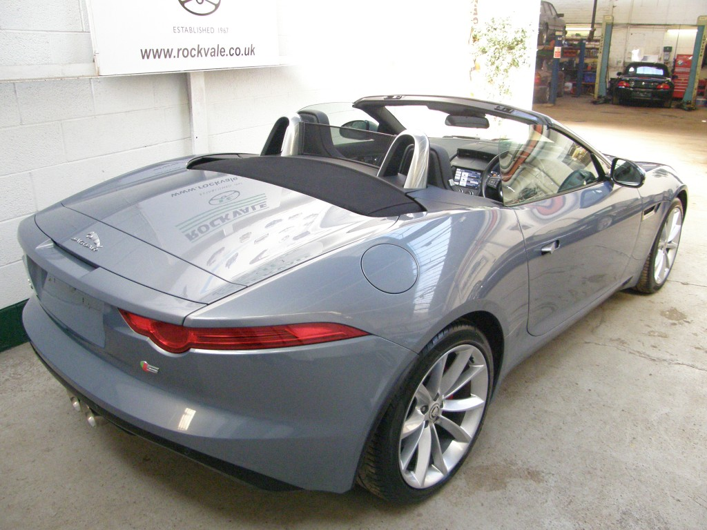 JAGUAR F-TYPE 3.0 V6 S 2DR AUTOMATIC