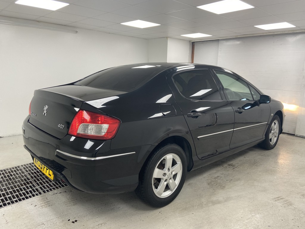 PEUGEOT 407 1.6 SPORT HDI 4DR