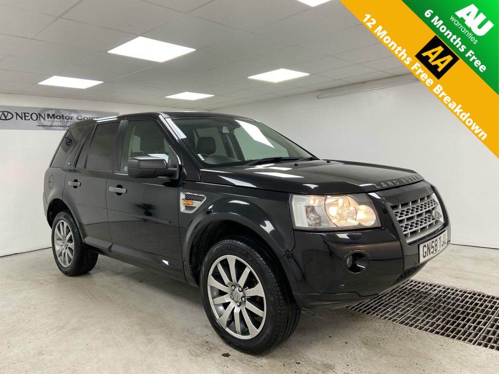 Used LAND ROVER FREELANDER 2.2 TD4 HSE 5DR AUTOMATIC in West Yorkshire