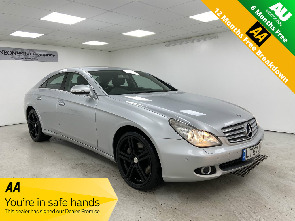 Used MERCEDES-BENZ CLS 5.5 CLS500 4DR AUTOMATIC in West Yorkshire