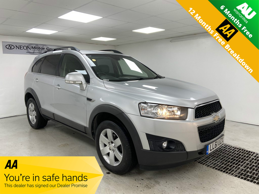 Used CHEVROLET CAPTIVA 2.2 LT VCDI 5DR in West Yorkshire