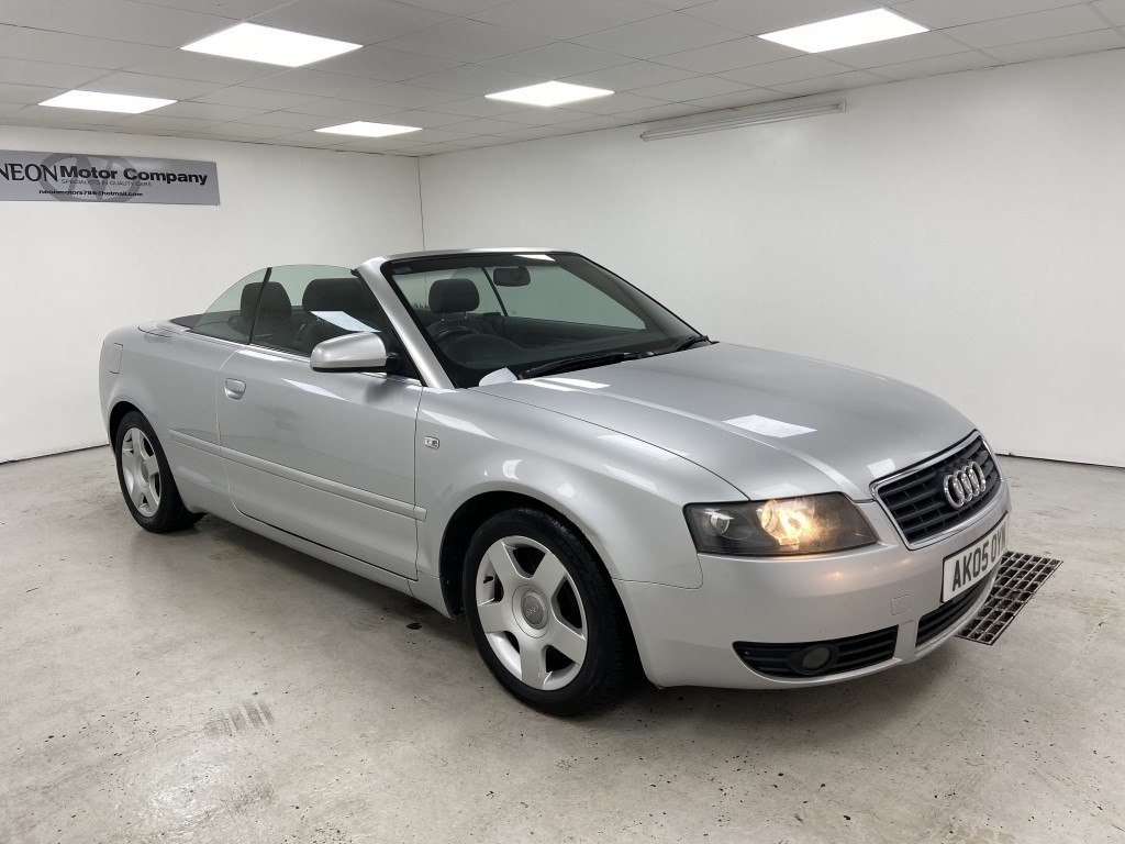 Used AUDI A4 1.8 T 2DR in West Yorkshire