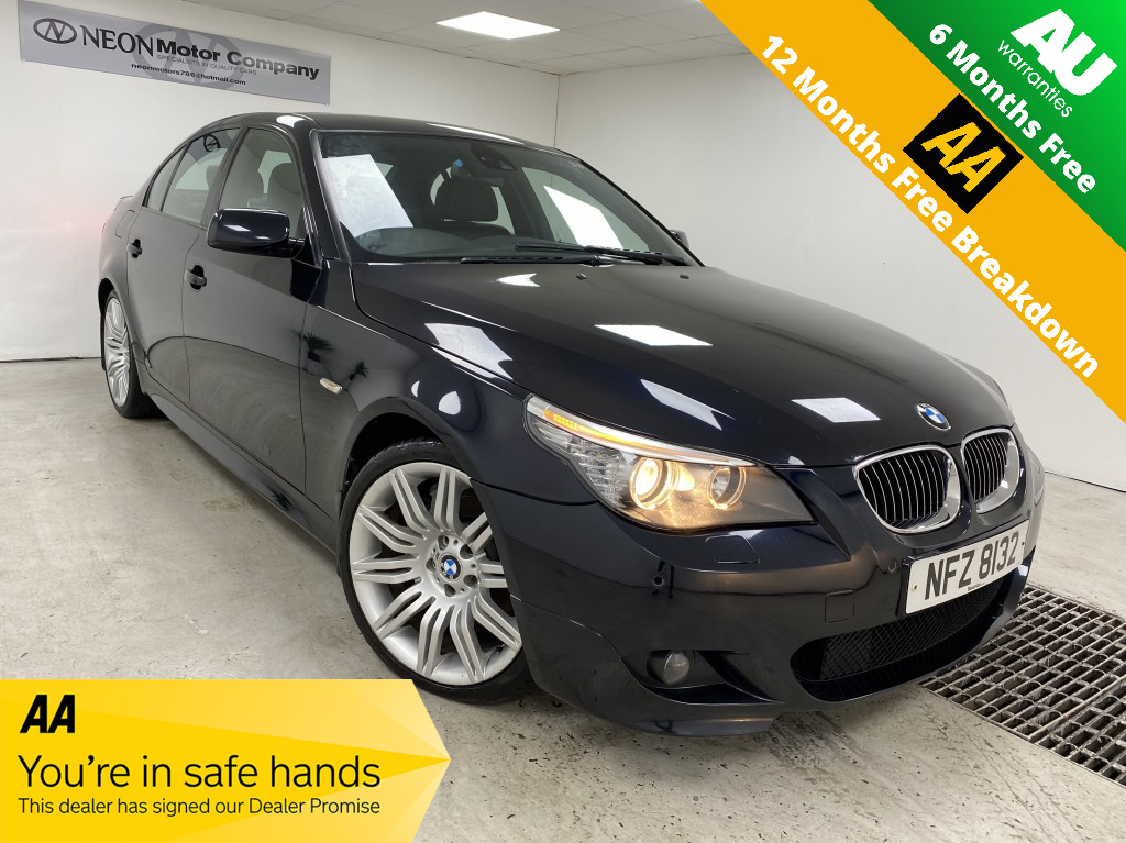 Used BMW 5 SERIES 3.0 535D M SPORT 4DR AUTOMATIC in West Yorkshire