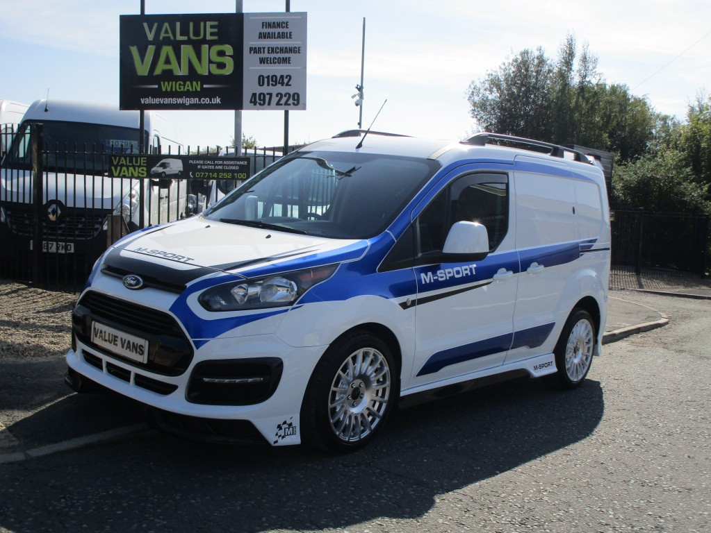 FORD TRANSIT CONNECT L1 1.5 220 M-SPORT STYLED - 54k - AIR CON - FSH